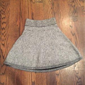 Zara marled sweater skirt